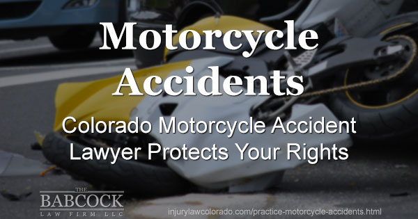Mack Babcock, the BEST Lawyer for Your Denver Motorcycle Accident