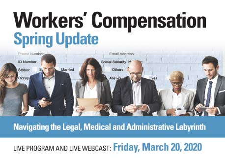 Colorado Bar Association's Workers' Compensation Spring Update