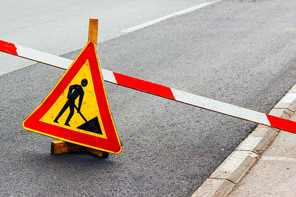 Unsafe pavement & road conditions
